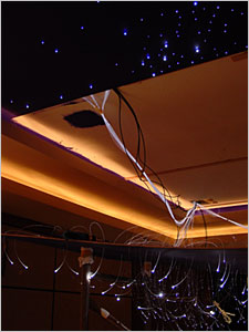 DIY: Fiber Optic Star Ceiling