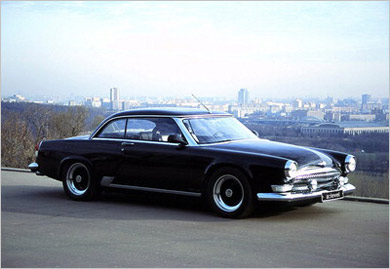 Level volga v12 coupe — back to the future