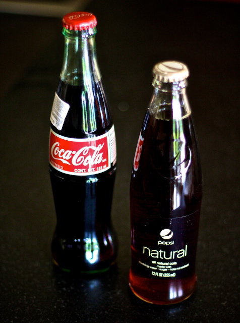 Mexican Coke & Pepsi Natural